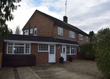 Thumbnail 3 bed semi-detached house for sale in Lea Road, Camberley, Surrey