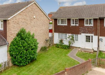 Thumbnail 4 bed semi-detached house for sale in Leaveland Close, Ashford
