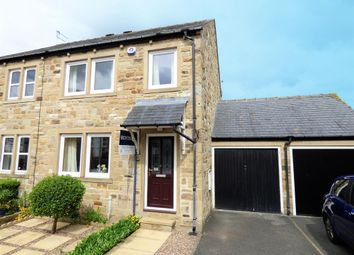 Thumbnail 3 bed semi-detached house for sale in Birkdale Court, Low Utley, Keighley