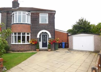 Thumbnail 3 bed semi-detached house for sale in Weatherley Drive, Marple, Stockport