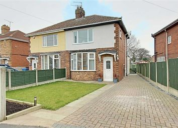 Thumbnail 3 bed semi-detached house for sale in Hill View Road, Brimington, Chesterfield, Derbyshire