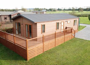 Thumbnail 2 bed lodge for sale in Llanon