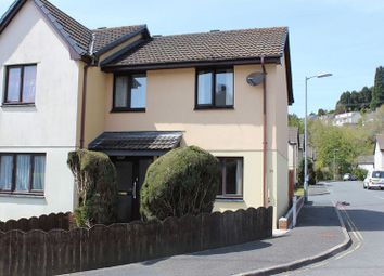 Thumbnail 2 bed semi-detached house for sale in Grove Road, Trewoon, St. Austell