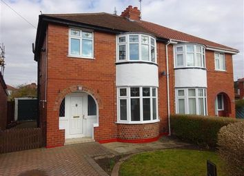 Thumbnail 3 bedroom semi-detached house for sale in Saville Grove, Rawcliffe, York