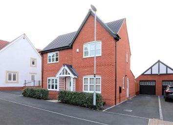 Thumbnail 4 bed detached house for sale in Cessna Court, Castle Donington