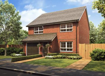 "Thumbnail 4 bed detached house for sale in ""Kennford"" at Stretton Road, Stretton, Warrington"