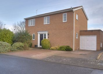 Thumbnail 4 bedroom detached house for sale in Yelverton Court, Cramlington
