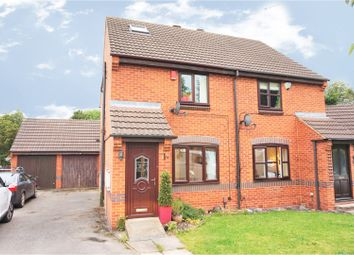 Thumbnail 3 bed semi-detached house for sale in Wood Grove, Leeds
