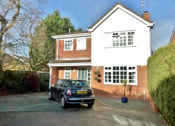 Thumbnail 4 bed detached house to rent in Merstal Drive, Solihull