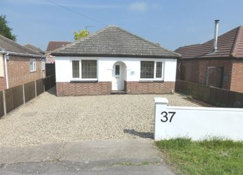 Thumbnail 3 bed detached bungalow for sale in Money Bank, Wisbech