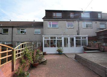 Thumbnail 4 bed terraced house for sale in Ael-Y-Bryn, Llanedeyrn