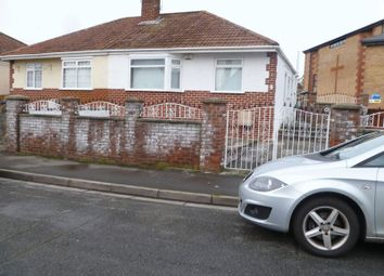 Thumbnail 2 bedroom semi-detached bungalow to rent in Belvedere Crescent, Weston-Super-Mare