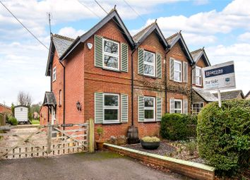 Thumbnail 3 bed semi-detached house for sale in Andover Road, Micheldever Station, Winchester, Hampshire