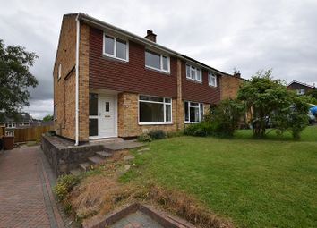 Thumbnail 3 bed semi-detached house to rent in Harlech Court, Hendredenny, Caerphilly.