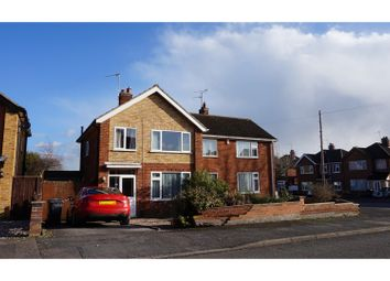 Thumbnail 3 bed semi-detached house for sale in Link Road, Anstey