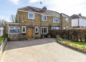 Thumbnail 4 bed semi-detached house for sale in Broughton Road, Otford, Kent