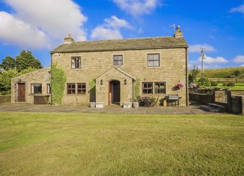Thumbnail 7 bed equestrian property for sale in Long Causeway, Cliviger, Burnley