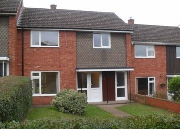 Thumbnail 3 bed terraced house to rent in Prospect Walk, Tupsley, Hereford