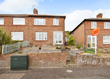 Thumbnail 3 bed semi-detached house for sale in Farthingloe Road, Maxton, Dover