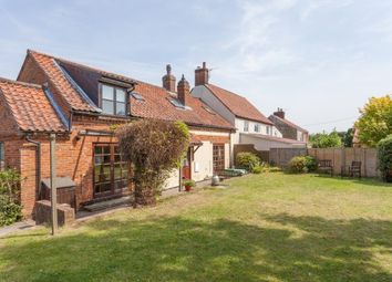Thumbnail 3 bed semi-detached house for sale in The Street, Hockering, Dereham