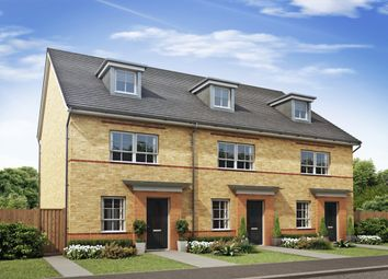 "Thumbnail 4 bed end terrace house for sale in ""Queensville"" at The Ridge, London Road, Hampton Vale, Peterborough"