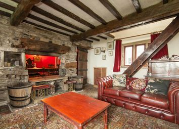 Thumbnail 3 bed farmhouse for sale in Hobson Moor Road, Mottram Hyde, Greater Manchester