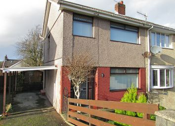 Thumbnail 3 bed semi-detached house for sale in Cefn Llwyn, Bonymaen, Swansea