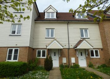 Thumbnail 4 bed terraced house to rent in Page Road, Hawkinge, Folkestone