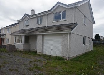 Thumbnail 4 bed detached house for sale in Cwr Y Coed, Llangefni