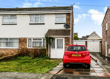 Thumbnail 3 bed semi-detached house to rent in Clos-Y-Deri, Porthcawl