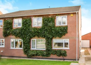 Thumbnail 3 bedroom semi-detached house for sale in Kilby Road, Fleckney, Leicester