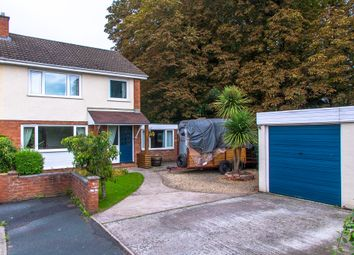 Thumbnail 3 bed semi-detached house for sale in Park Close Holmer, Hereford