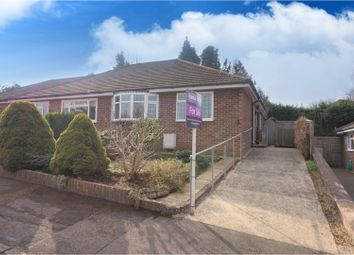 Thumbnail 2 bed semi-detached bungalow for sale in Meadow Close, Liphook