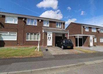 Thumbnail 3 bed semi-detached house for sale in Henley Close, Cramlington