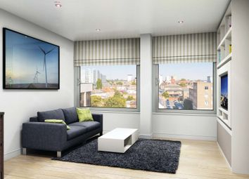 Thumbnail Studio to rent in Tryon Apartments, Balfour Road, Hounslow, Middlesex