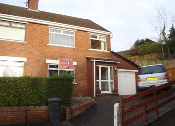 Thumbnail 3 bedroom semi-detached house to rent in Mount Michael Drive, Belfast