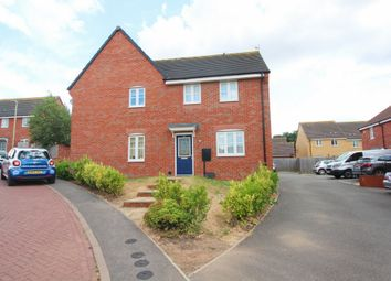 Thumbnail 3 bed semi-detached house for sale in Ampleforth Lane, Leicester