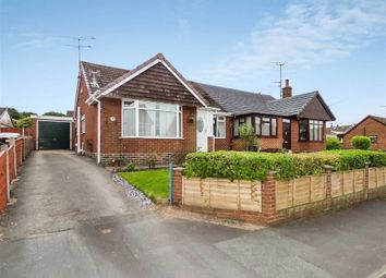 Thumbnail 3 bedroom semi-detached bungalow for sale in Heath Grove, Meir Heath, Stoke-On-Trent