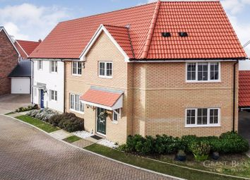 Thumbnail 3 bed semi-detached house for sale in Gillyflower Way, Red Lodge, Bury St Edmunds