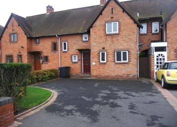 Thumbnail 3 bed terraced house to rent in Oakfield Drive, Cofton Hackett, Birmingham
