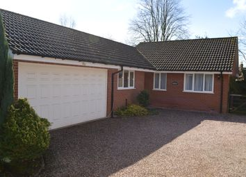 Thumbnail 3 bed detached bungalow to rent in Beulah Drive, Market Drayton