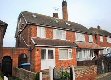 Thumbnail 5 bed semi-detached house to rent in Perkins Avenue, Margate
