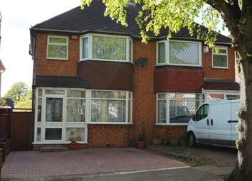 Thumbnail 3 bed semi-detached house for sale in Harbeck Avenue, Great Barr, Birmingham