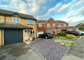 Thumbnail 3 bed semi-detached house for sale in Fallow Close, Broughton Astley, Leicester