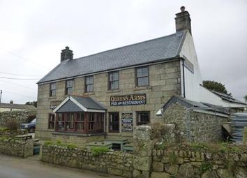 Thumbnail Pub/bar for sale in Queens Arms Pub & Restaurant, Botallack, St Just, Penzance