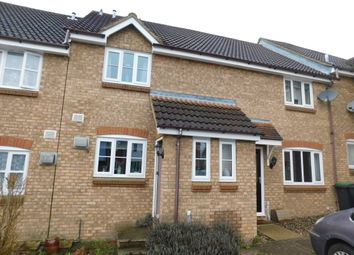 Thumbnail 2 bed terraced house for sale in Drake Close, Stowmarket