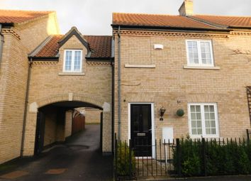 Thumbnail 2 bed end terrace house to rent in Hardy Way, Fairfield, Hitchin