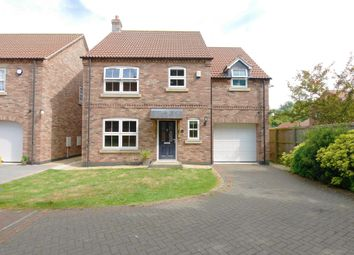 Thumbnail 5 bed detached house for sale in Blue Cedar Gardens, Howden, Goole
