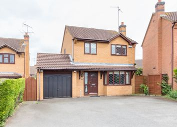 Thumbnail 3 bed detached house for sale in Denford Way, Wellingborough