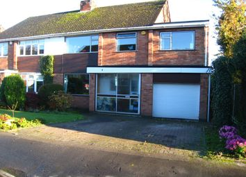 Thumbnail 5 bedroom semi-detached house for sale in Grange Avenue, Finham, Coventry